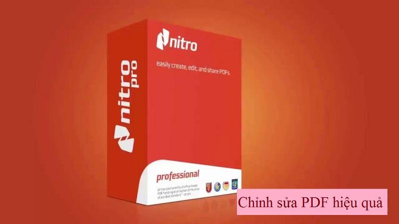 Phần mềm Nitro Pro 12