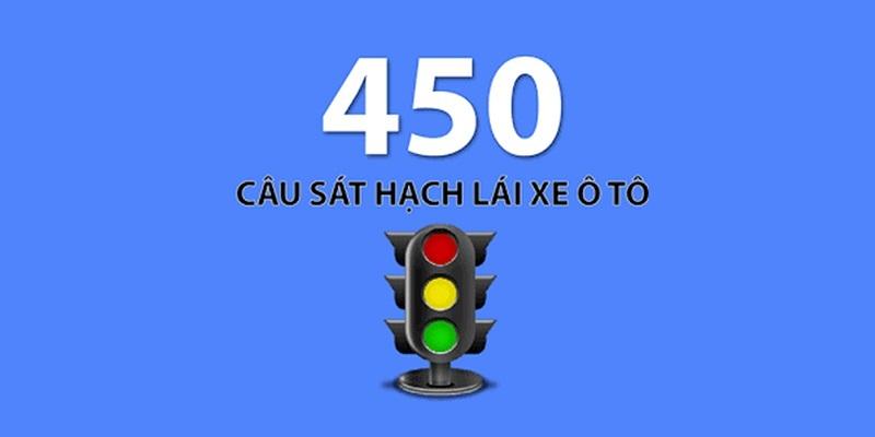 450 câu hỏi sát hạch lái xe máy
