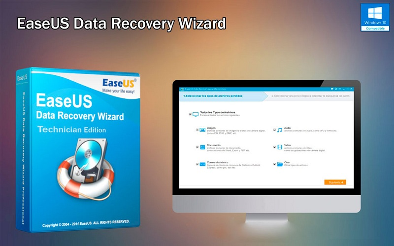 Phần mềm Easeus Data Recovery Wizard khôi phục tài liệu khi đã xóa