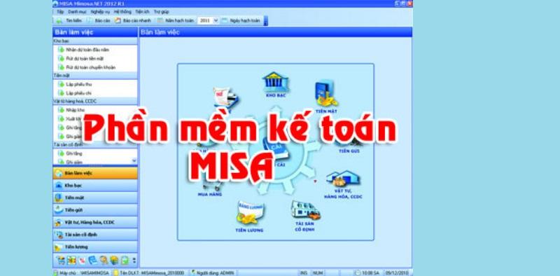 Phần mềm kế toán misa miễn phí + crack