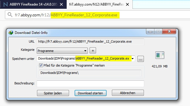 key abbyy finereader 14-8