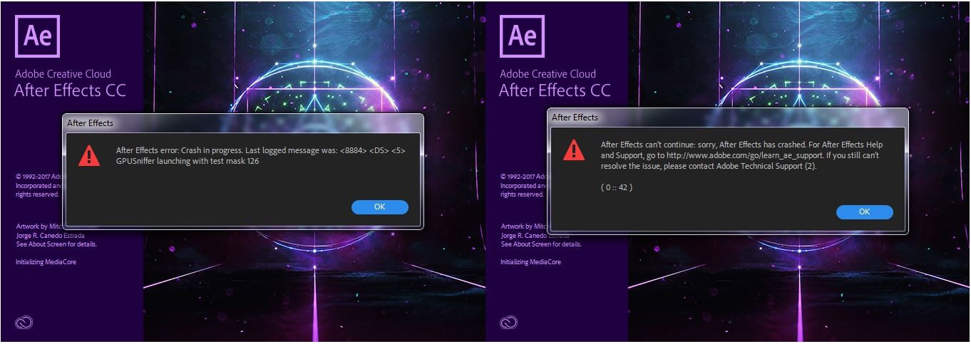 after effect 2018-2