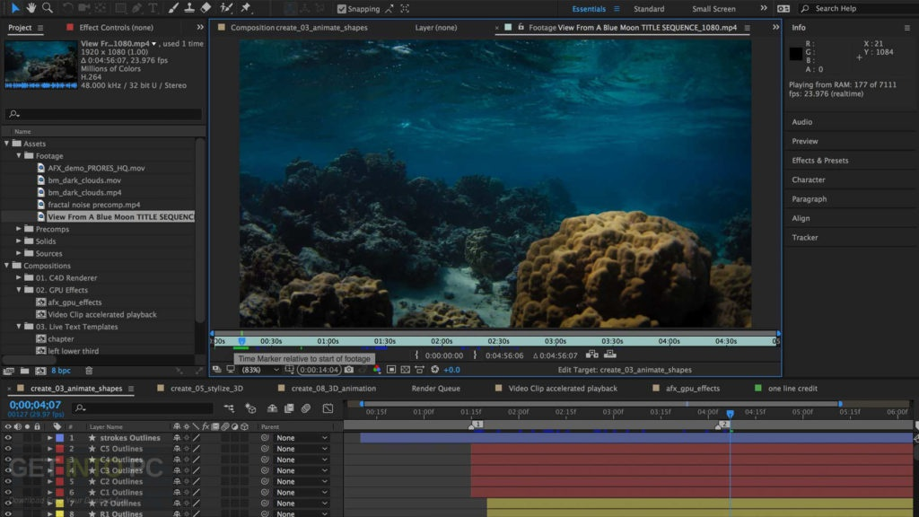 adobe after effects cc 2018-5