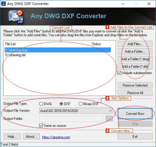 any dwg dxf converter pro-2