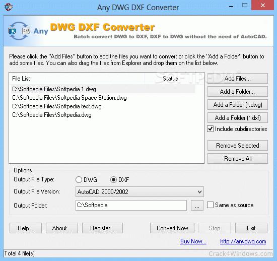 any dwg dxf converter pro-4