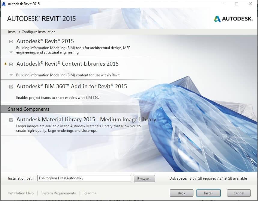 hướng dẫn cài revit 2015-3