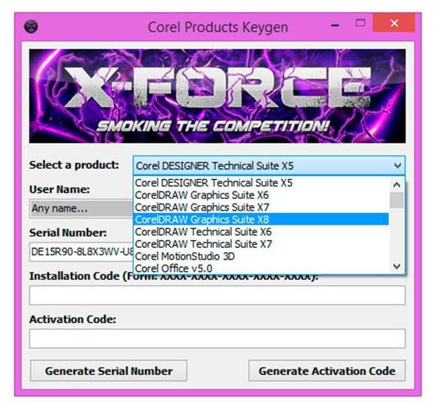 crack corel x8 64bit-4