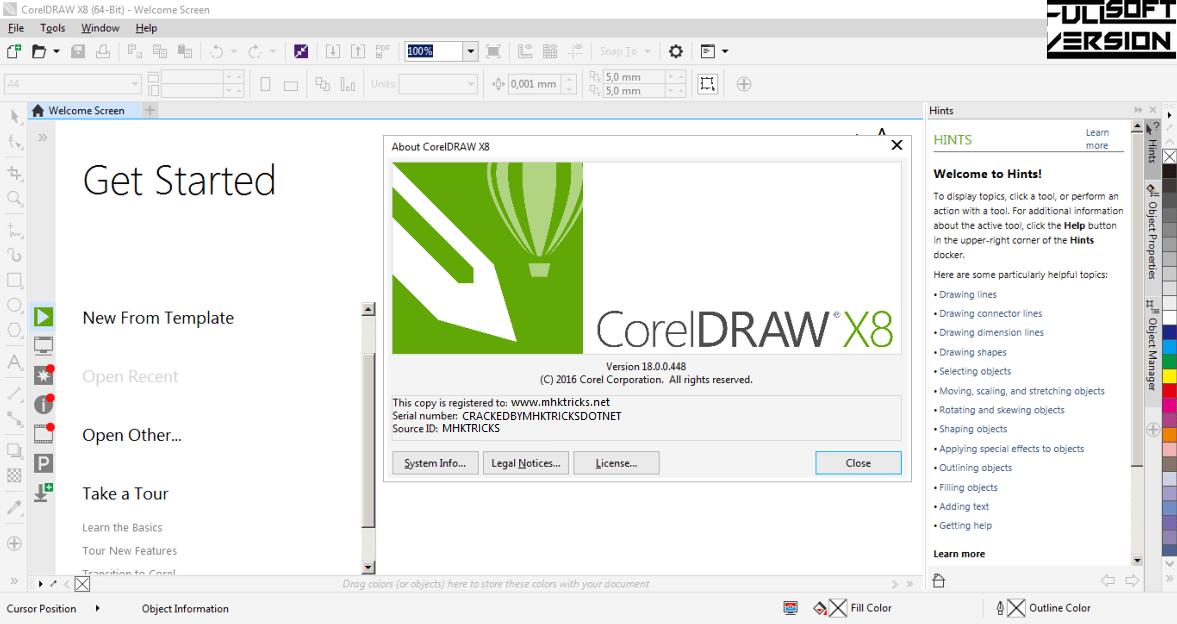 crack corel x8 64bit-5