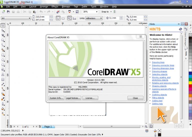 download corel x5-3