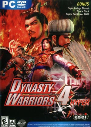 dynasty warrior pc-8
