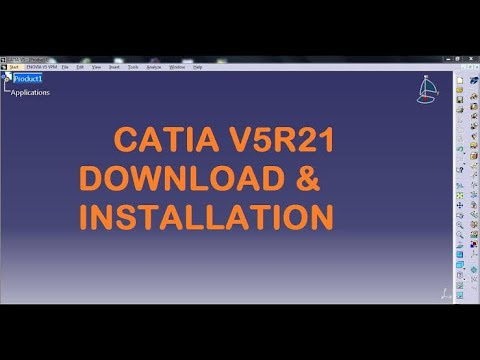 catia v5r21-0