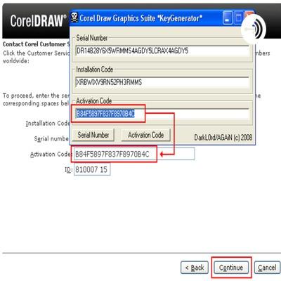 serial number corel 12-4