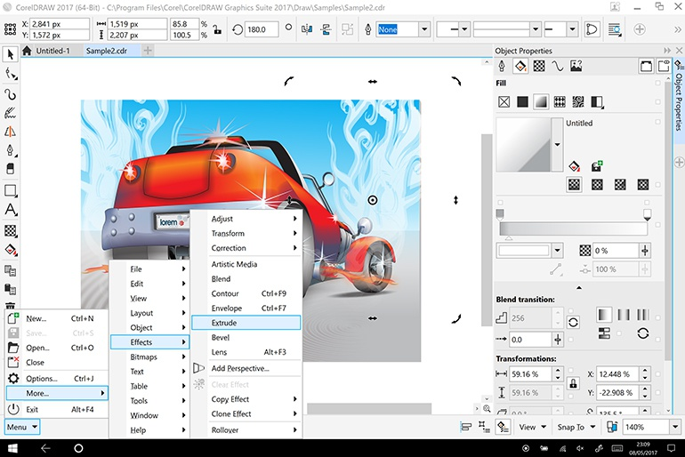 corel draw 2017-0