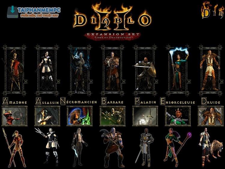 các phiên bản diablo 2-3