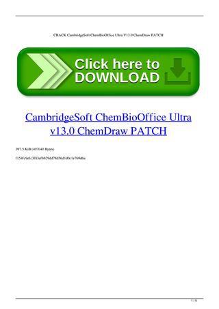 chembiodraw ultra 14.0 full crack-6