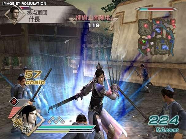 game dynasty warriors 6-3