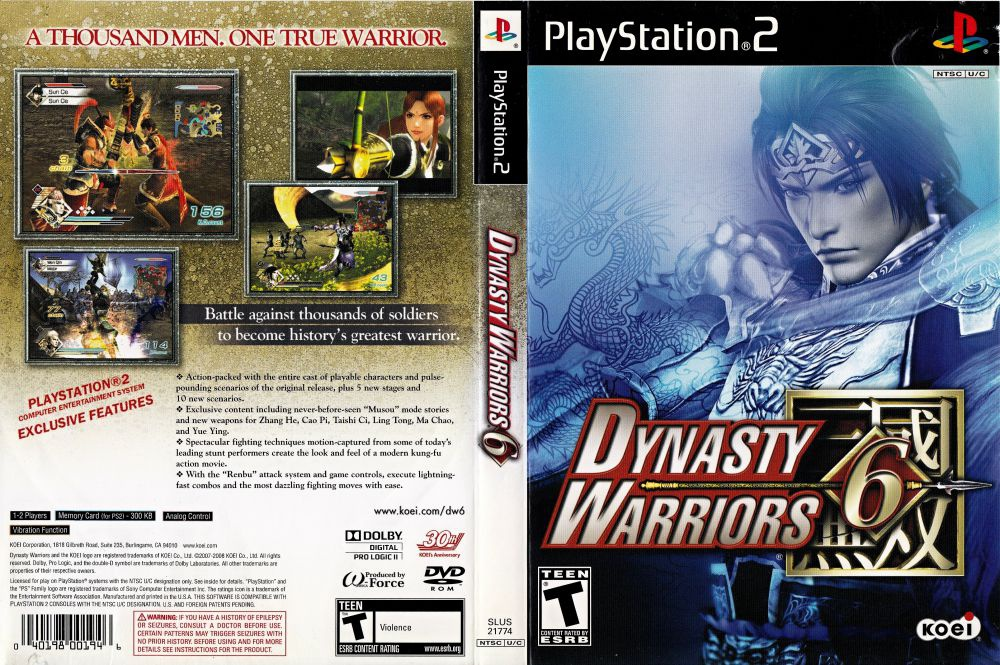 game dynasty warriors 6-6