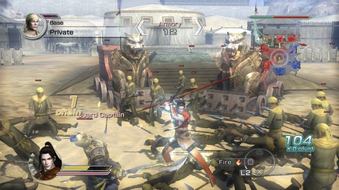 game dynasty warriors 6-7