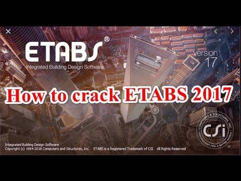 etabs 2017 full crack-1