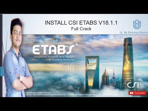 etabs 2018 full crack-6