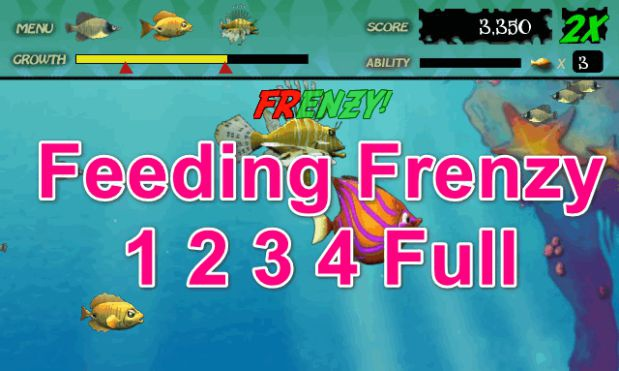 game feeding frenzy 3-4