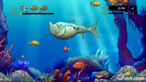 game feeding frenzy 3-5