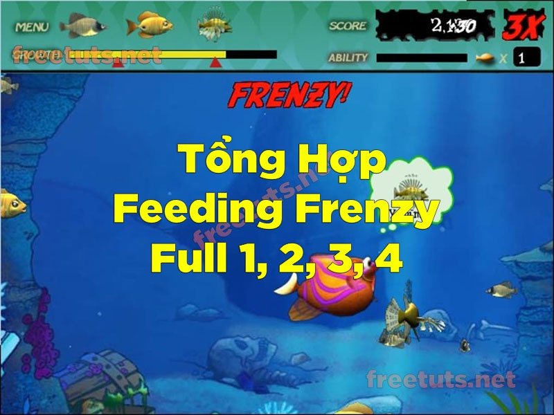 game feeding frenzy 3-9