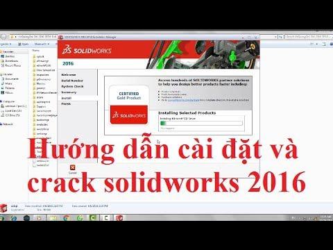 hướng dẫn cài đặt solidworks 2016-7