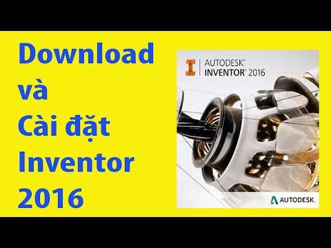 hướng dẫn cài inventor 2016-9