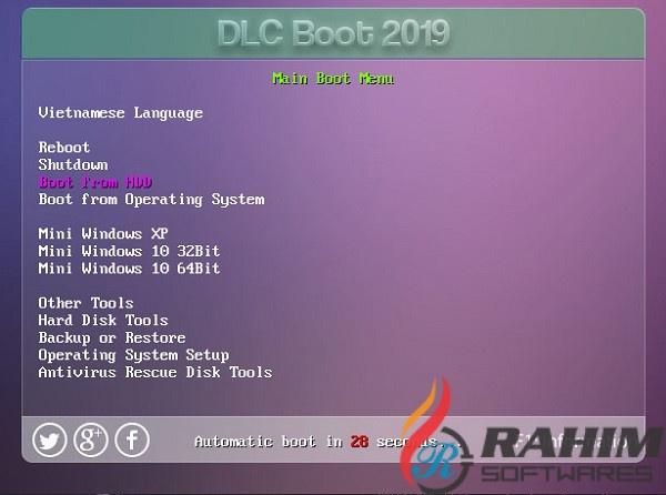 usb boot dlc-7
