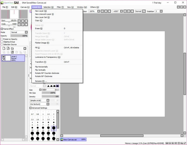 paint tool sai full crack 2019-2