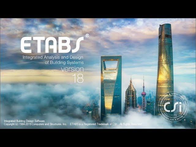 etabs 2018-1