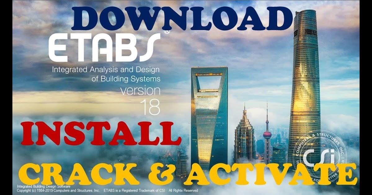 download etabs 2018 full crack-5