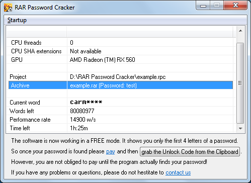 rar password recovery professional-1