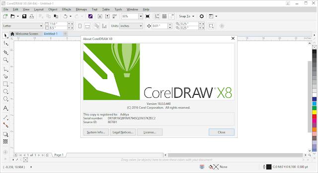 corel x8 64 bit full crack-9
