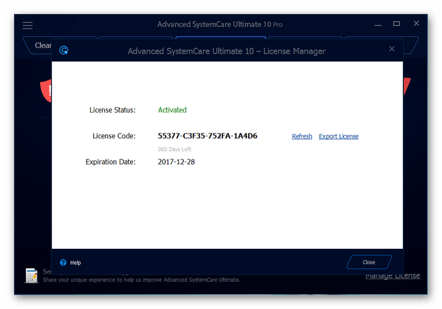 key advanced systemcare ultimate 12-4