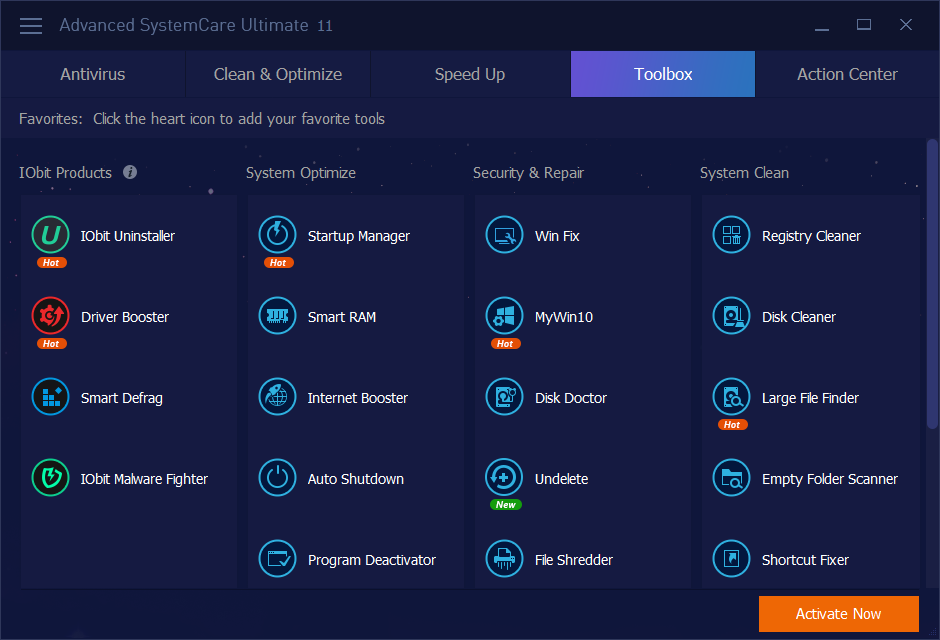 key advanced systemcare ultimate 12-7