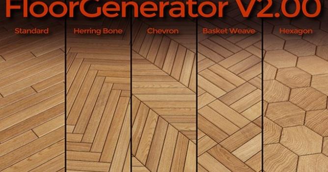floor generator 3ds max 2018-0