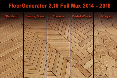 floor generator 3ds max 2018-2