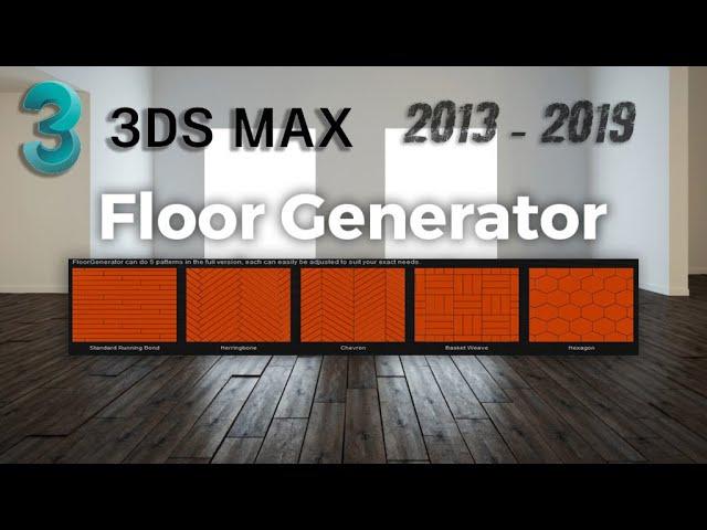 floor generator 3ds max 2018 full crack-2