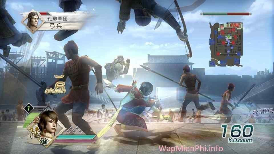 tải game dynasty warriors 6-8