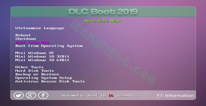 tạo usb dlc boot-9