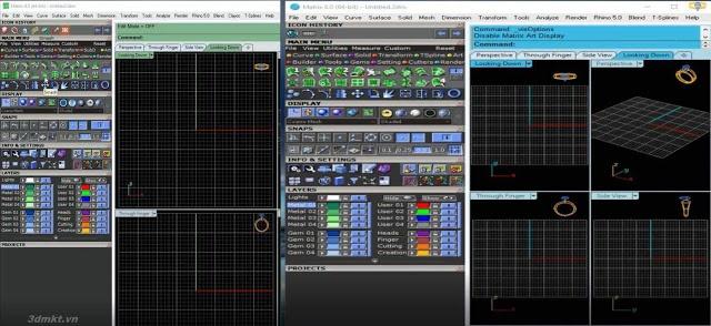phần mềm matrix-5