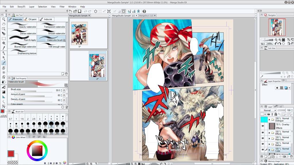 manga studio ex 5-1