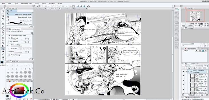 manga studio ex 5-9