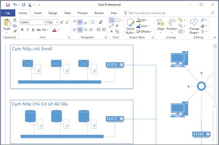 phần mềm visio 2016-2