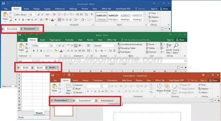office tab cho office 2016-0