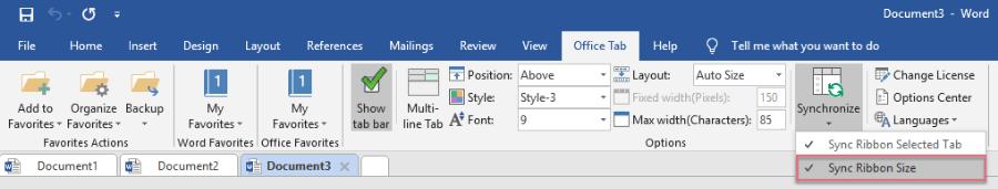 office tab cho office 2016-5