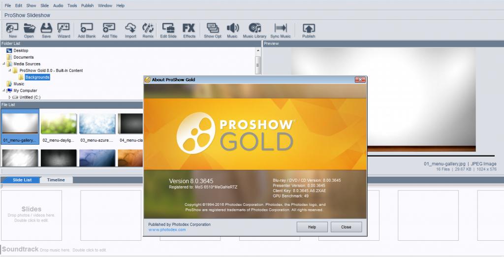 download proshow gold 9.0 full crack-0