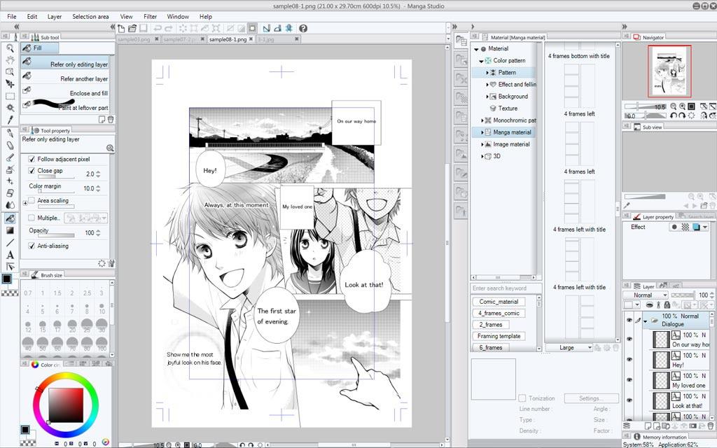 manga studio 5.0-0